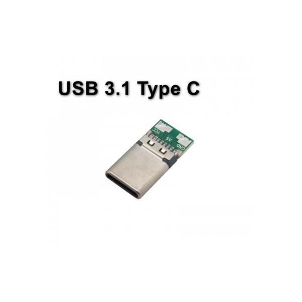 برد تغذیه نری USB 3.1 Type C