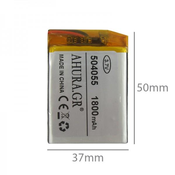 باتری لیتیوم پلیمر Li-Po 3.7V 1800mAh تک سل - دانشجو کیت
