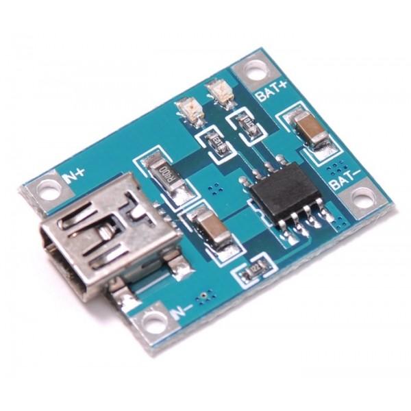 ماژول شارژر باتری Mini USB Tp4056 | دانشجو کیت