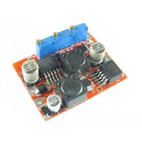 ماژول افزاینده - کاهنده LM2596-LM2577 با امکان کنترل جریان خروجی | دانشجو کیت