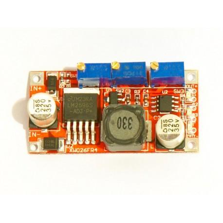 ماژول تغذیه LM2596 با قابلیت تنظیم جریان 5A | دانشجو کیت