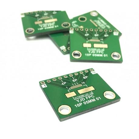 تبدیل PCB 10 پایه FPC to DIP | دانشجو کیت