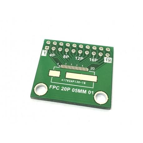تبدیل PCB 20 پایه FPC to DIP | دانشجو کیت