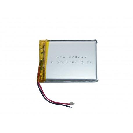 باتری لیتیوم پلیمر 3.7V 3500mAh | دانشجو کیت