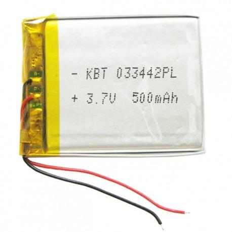 باتری لیتیوم پلیمر 3.7V 500mAh | دانشجو کیت