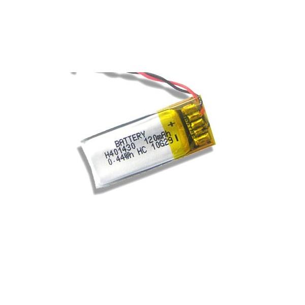 باتری لیتیوم پلیمر 3.7V 120mAh | دانشجو کیت