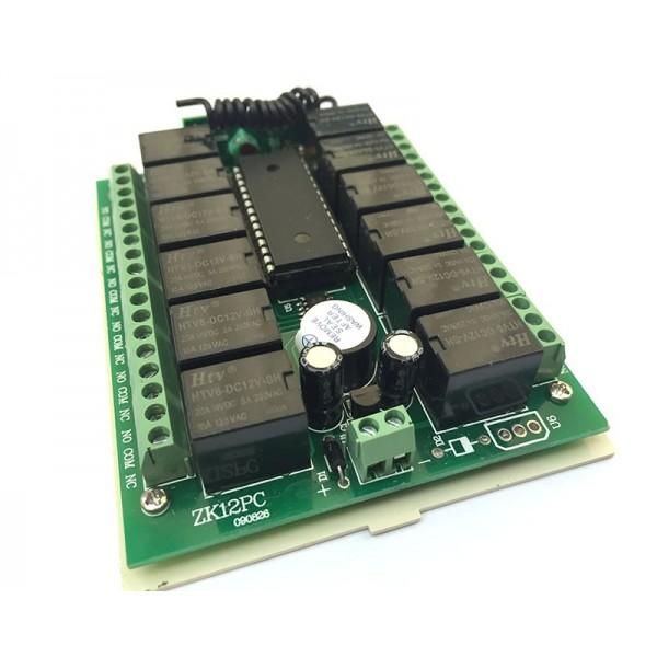 ماژول گیرنده 12 کانال رادیویی 315 MHz | دانشجو کیت