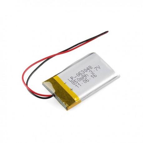 باتری لیتیوم پلیمر 3.7V 850mAh | دانشجو کیت
