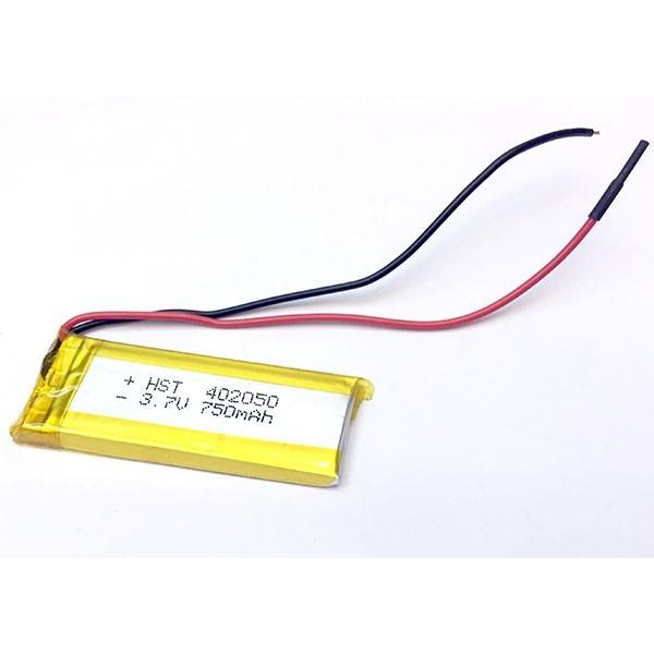 باتری لیتیوم پلیمر 3.7V 750mAh | دانشجو کیت
