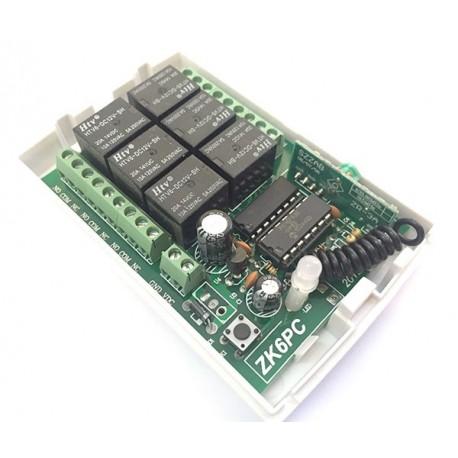 گیرنده 6 کانال رادیویی 315 MHz | دانشجو کیت