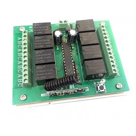 گیرنده 8 کانال رادیویی 315 MHz | دانشجو کیت