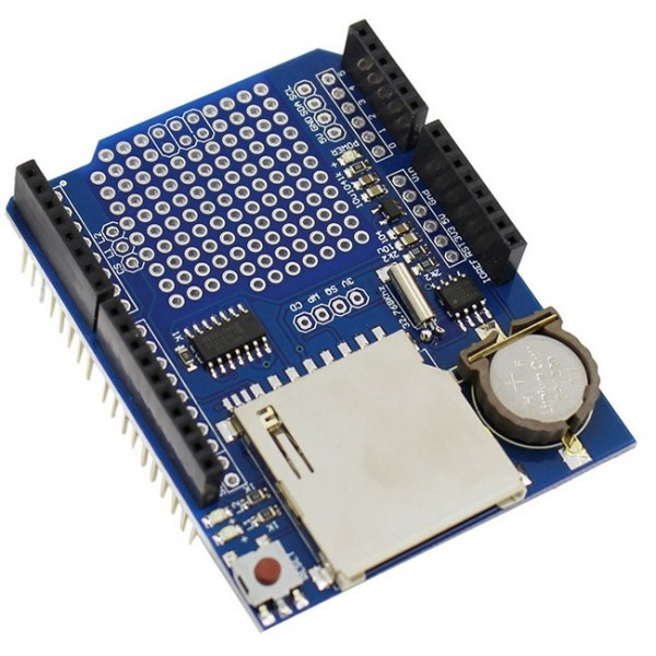 شیلد آردوینو دیتالاگر Arduino Shield Data Loger | دانشجو کیت