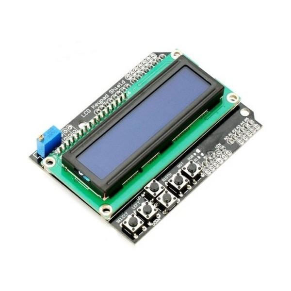 شیلد ال سی دی آردوینو Arduino Shield 2*16 LCD | دانشجو کیت