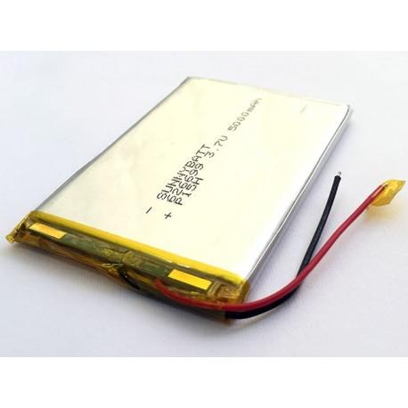 باتری لیتیوم پلیمر 3.7V 5000mAh | دانشجو کیت
