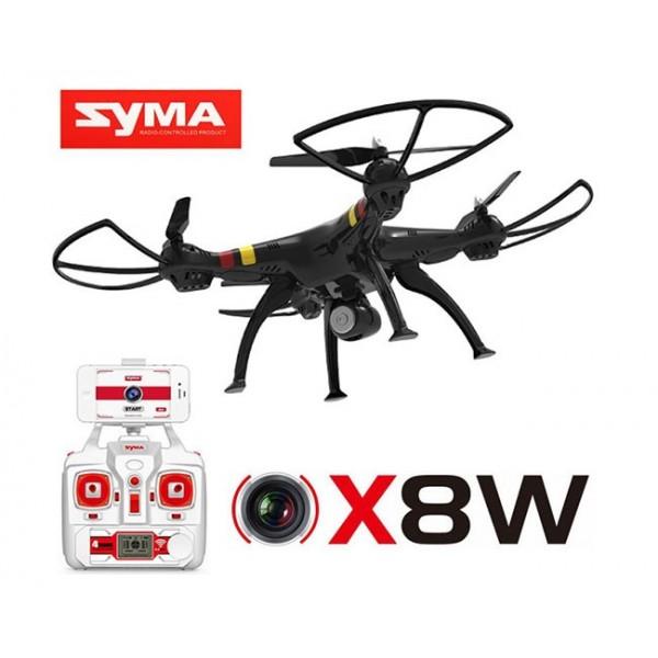 کوادکوپتر Syma X8W با قابلیت ارسال تصویر روی تلفن همراه | دانشجو کیت