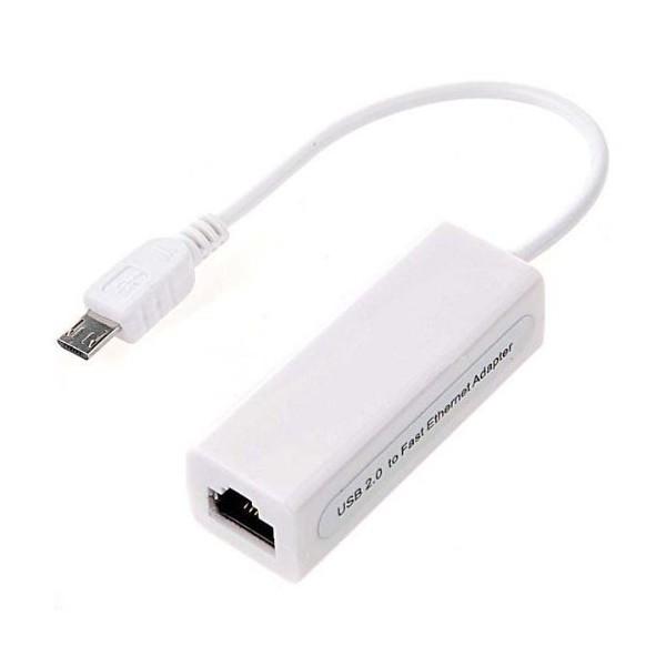 کابل تبدیل USB به Ethernet مخصوص رزبری پای زیرو | دانشجو کیت