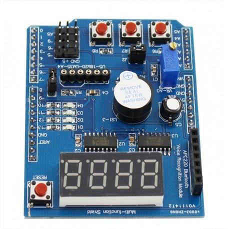 شیلد آردوینو مولتی فانکشن Arduino Multifunction Shield | دانشجو کیت