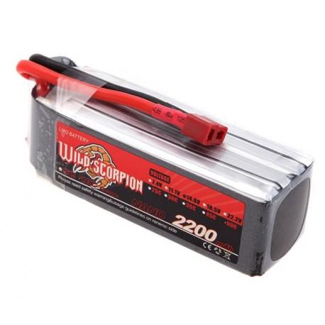 باتری لیتیوم پلیمر  3-2200-45C | دانشجو کیت