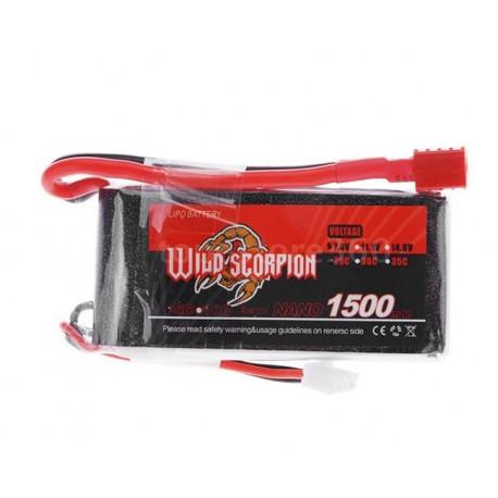 باتری لیتیوم پلیمر 1500 میلی آمپری 3 سلول
