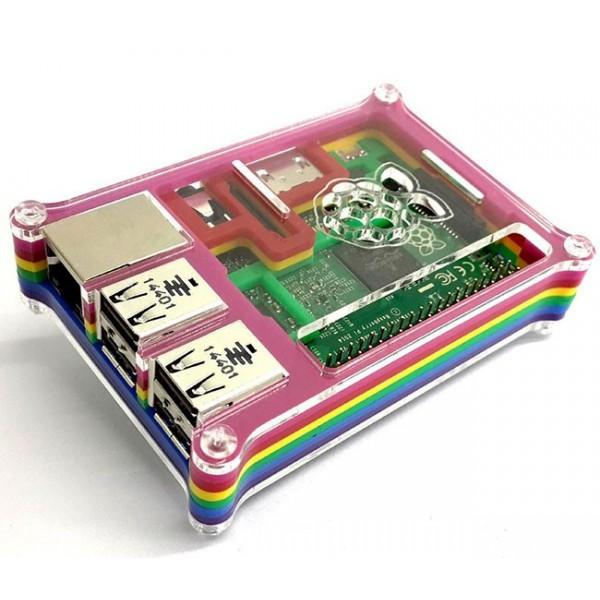 جعبه رنگین کمانی رزبری پای Eleduino