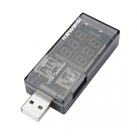 ولت متر و آمپر متر USB