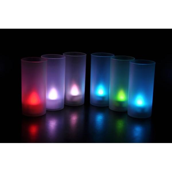 شمع LED