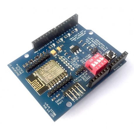 شلید Arduino ESP8266 Wifi Shield Version 1.0