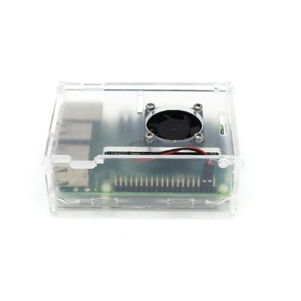 جعبه پلکسی مخصوص رزبری پای Raspberry Pi Plexi Case