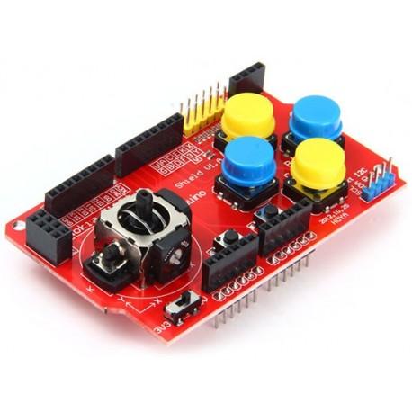شیلد جوی استیک مخصوص آردوینو joystick shield V1.0