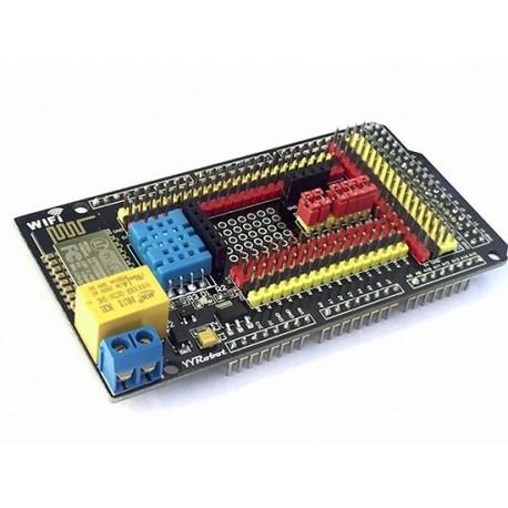 شیلد دما و رطوبت و وای فای Arduino mega 2560