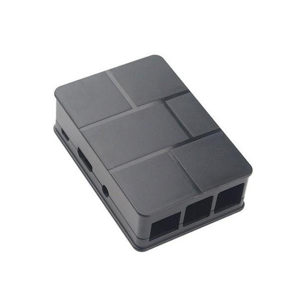 باکس رزبری ساده Raspberry Black ABS Box