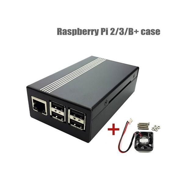 کیس آلومینیومی رزبری پای Raspberry Pi Aluminium Case