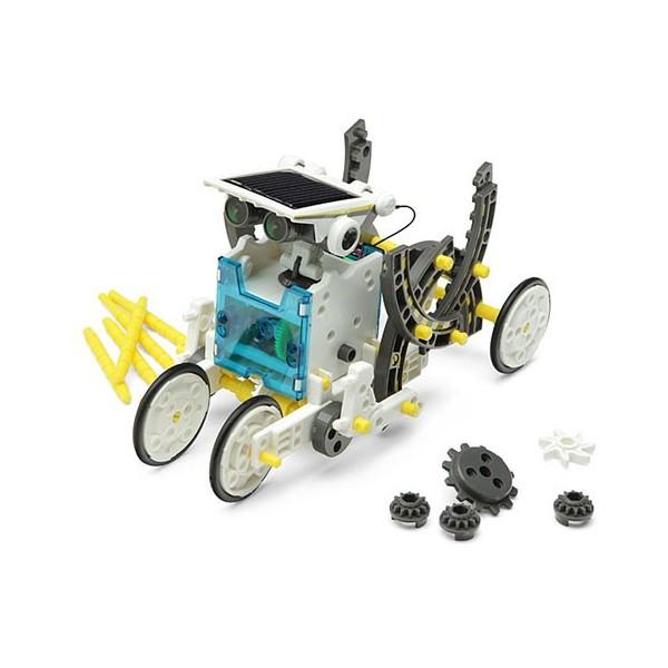 ربات خورشیدی 14 کاره به همراه نقشه مونتاژ