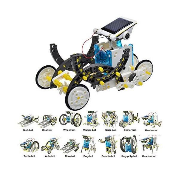 ربات خورشیدی 13 کاره به همراه نقشه مونتاژ
