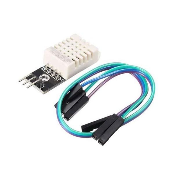 ماژول دماسنج دیجیتال Digital Temperature AM2302 با کابل