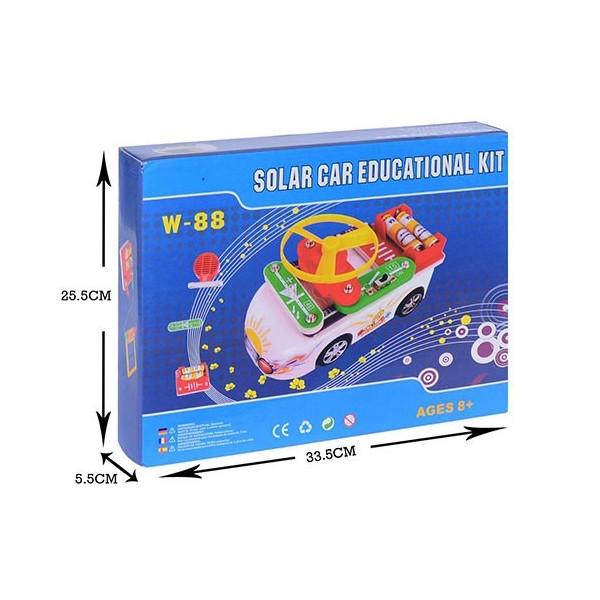 کیت ماشین الکترونیکی خورشیدی W-88 با دفترچه فارسی