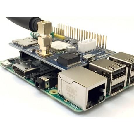 شیلد sim800C مخصوص رزبری پای Raspberry Pi GSM Shield با آنتن