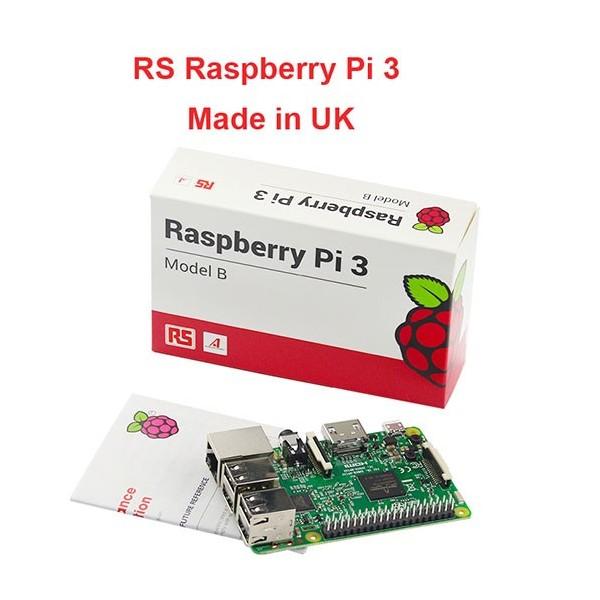 رزبری پای 3 Raspberry pi ساخت انگلستان