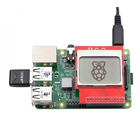 شیلد ال سی دی نوکیا مخصوص رزبری raspberry pi pcd8544 shield