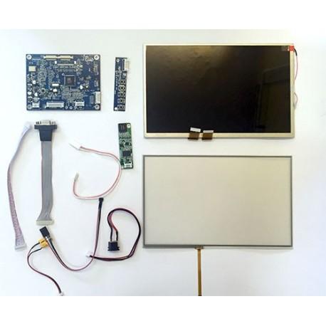 ال سی دی TFT 10.1inch 50pin با قابلیت نصب تاچ اسکرین و درایور مربوطه