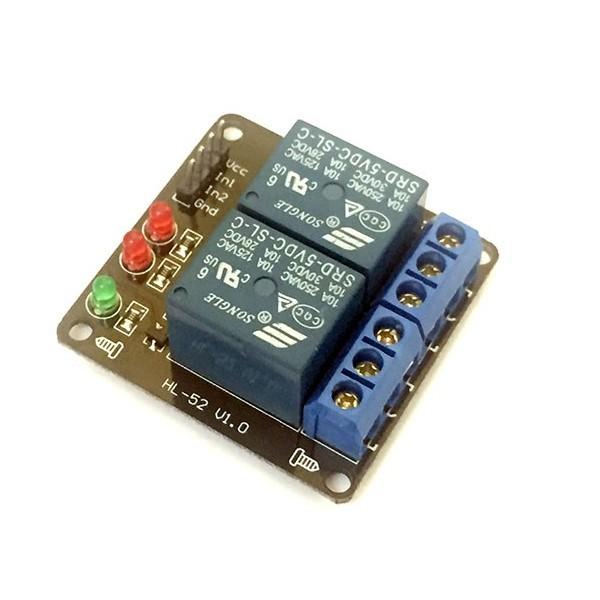 ماژول رله دو کانال Relay Module 5V