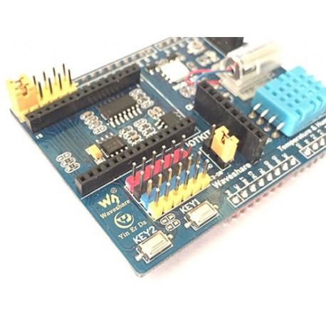 شیلد IOT Kit مخصوص آموزش اینترنت اشیاء Waveshare