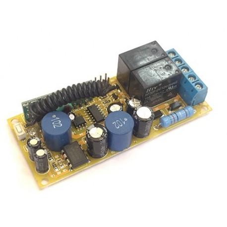 ماژول گیرنده دو کانال رادیویی 315MHZ با ولتاژ 220 ولت