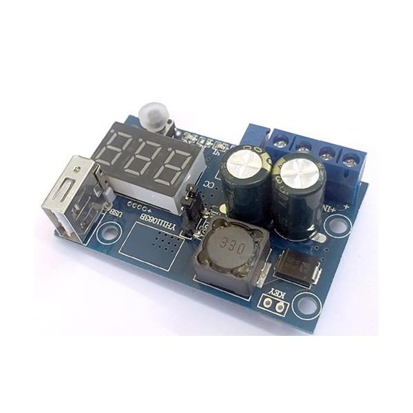 ماژول کاهنده XL2596S با نمایشگر و خروجی USB