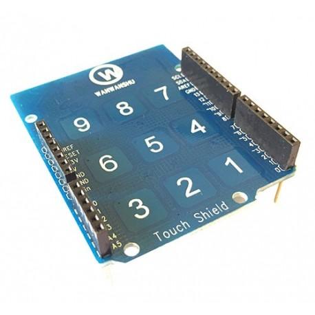 شیلد تاچ پد آردوینو Arduino Touch Pad