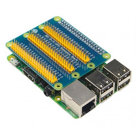 شیلد افزایش GPIO رزبری پای Raspberry Pi Expansion Shield