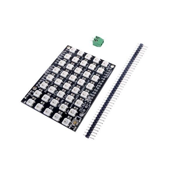 شیلد RGB آردوینو WS2812B RGB LED Arduino UNO