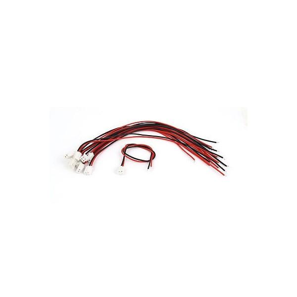 کابل XH دو پایه به همراه کانکتور XH رو بردی - XH Cable