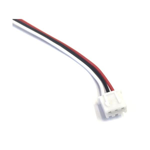 کابل XH سه پایه به همراه کانکتور XH رو بردی - XH Cable