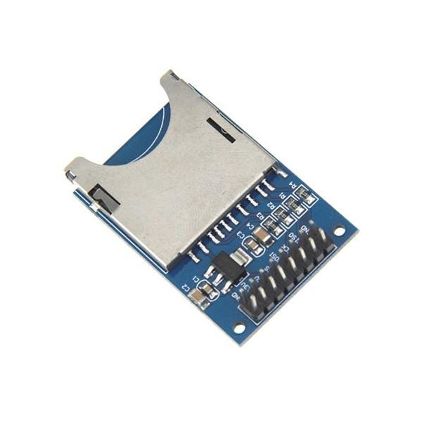 ماژول کارت خوان SD Card Reader با رابط SPI و 16 پایه